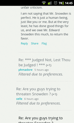 m.slashdot.org, screenshot
